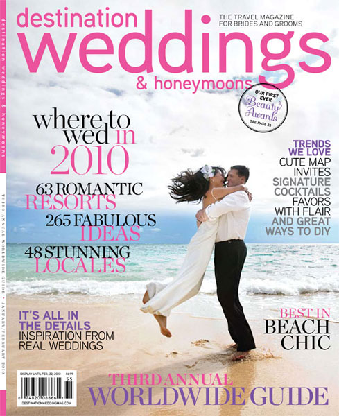 Alisha Lukes Wedding Is In Destination Weddings And Honeymoons Magazine It Came Out On Stands Yesterday Go Pick Up A Copy